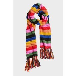 EVEREVE Multicolor Terra Rainbow Fringe Scarf